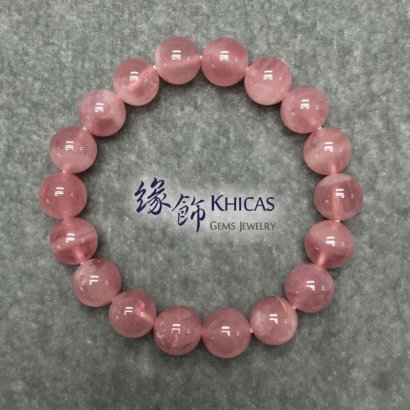 4A+ 馬達加斯加粉晶 10mm Madagascar Rose KH140932 @ Khicas Gems 緣飾天然水晶