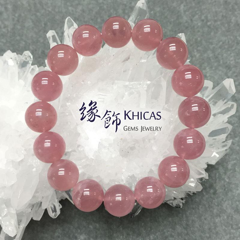 4A+ 馬達加斯加粉晶 12mm KH140933 Khicas Gems 緣飾天然水晶