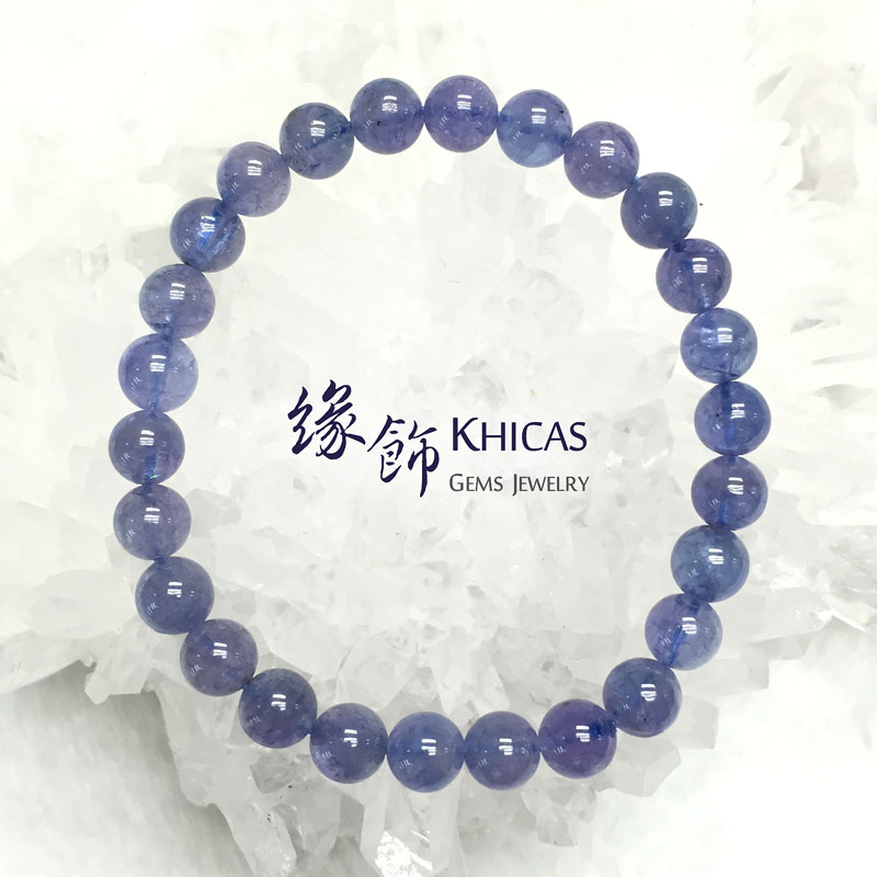坦桑尼亞 藍坦桑石手串 7mm Tanzanite KH140978 @ Khicas Gems 緣飾