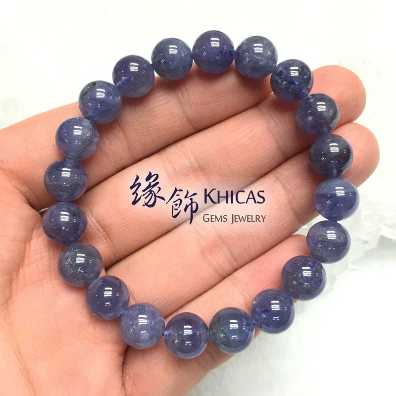 坦桑尼亞 藍坦桑石手串 10mm Tanzanite KH140981 @ Khicas Gems 緣飾