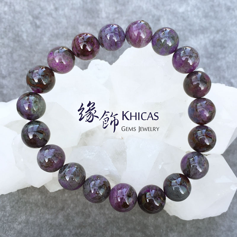 南非舒俱徠手串 10.5mm Sugilite KH141044 by Khicas Gems 緣飾