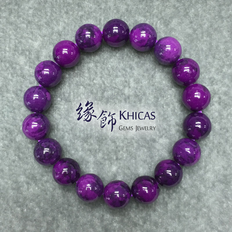 紫石手串 10mm KH141116 @ Khicas Gems 緣飾