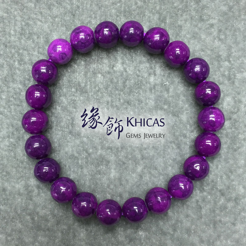 紫石手串 8mm KH141188 @ Khicas Gems 緣飾