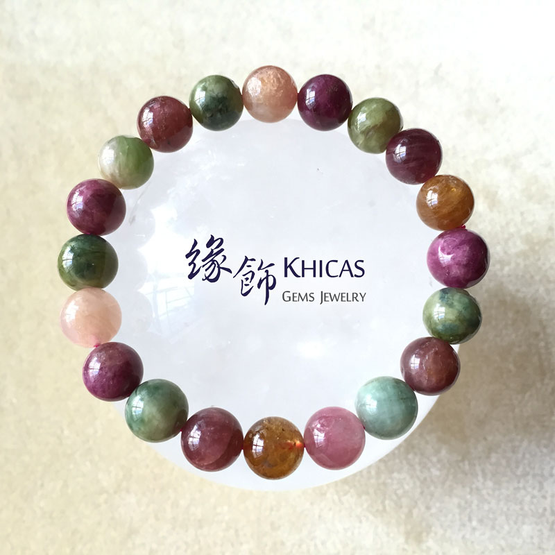 阿富汗 2A+ 糖果碧璽 9.5mm+/- KH141219 Khicas Gems 緣飾