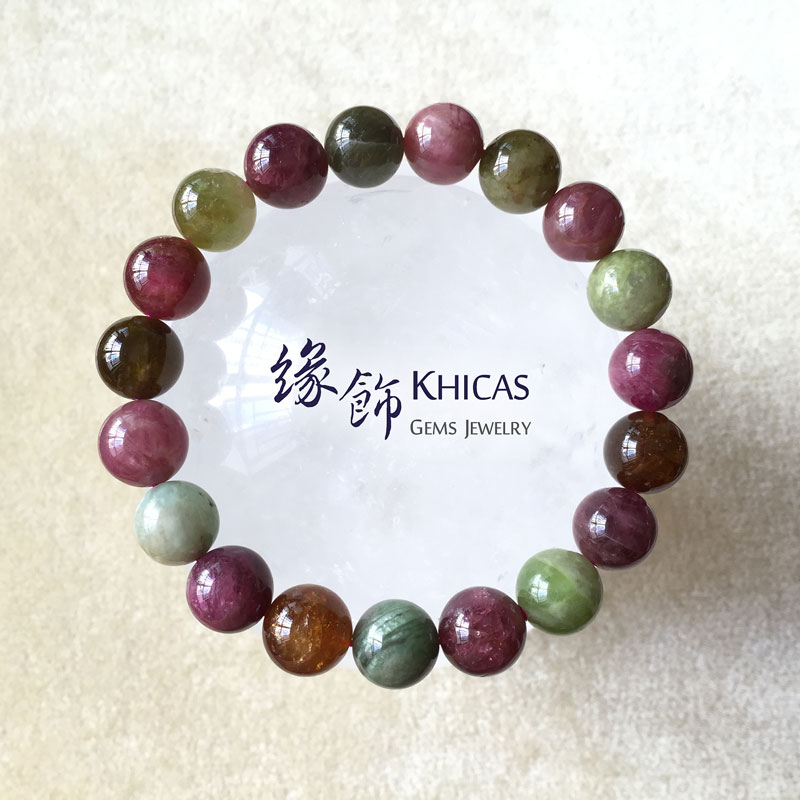 阿富汗 2A+ 糖果碧璽 10.5mm+/- KH141220 Khicas Gems 緣飾