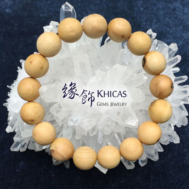 崖柏木手串 12mm KH141256 @ Khicas Gems 緣飾