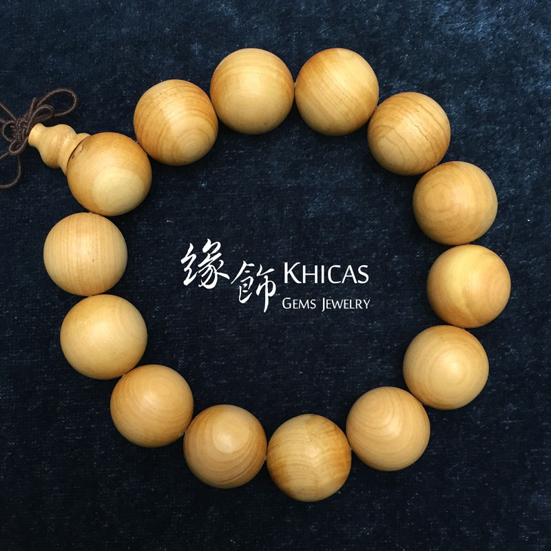 崖柏木手串 16mm KH141257 @ Khicas Gems 緣飾