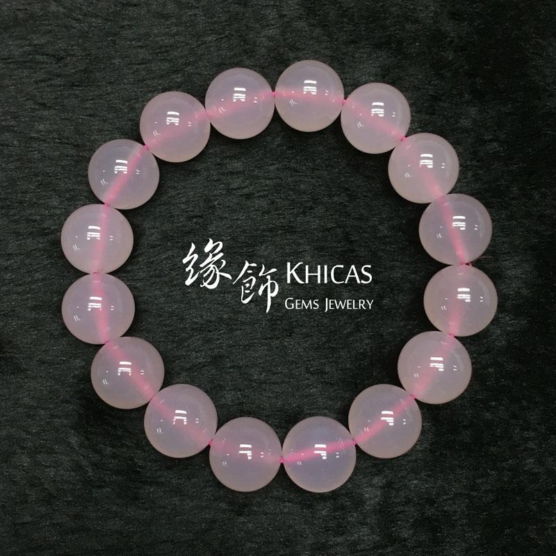 巴西粉玉髓 12mm KH141407 @ Khicas Gems 緣飾