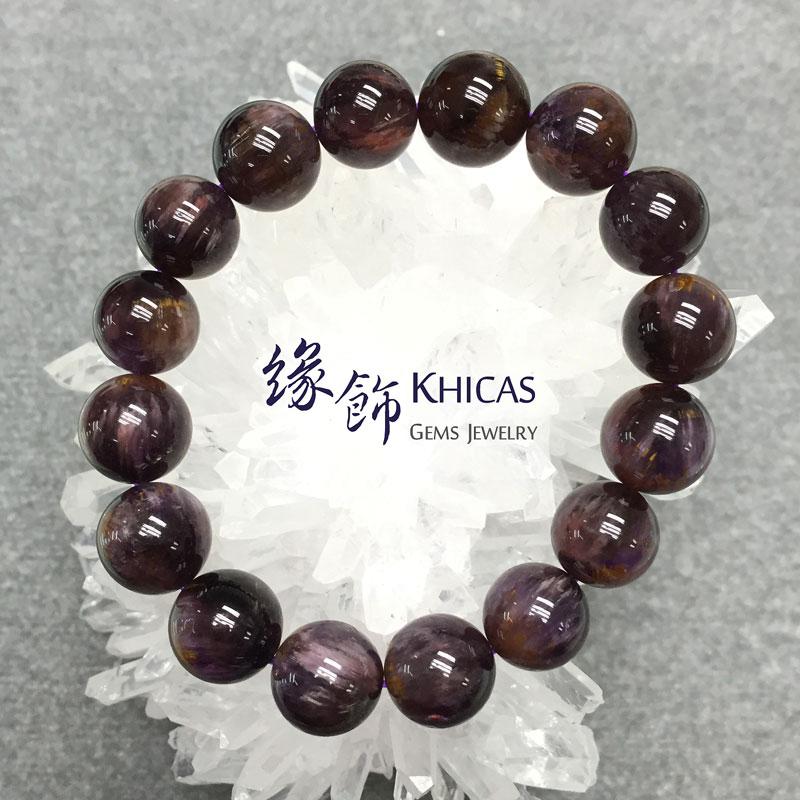 巴西2A+紫鈦晶手串 13mm KH141335 @ Khicas Gems 緣飾