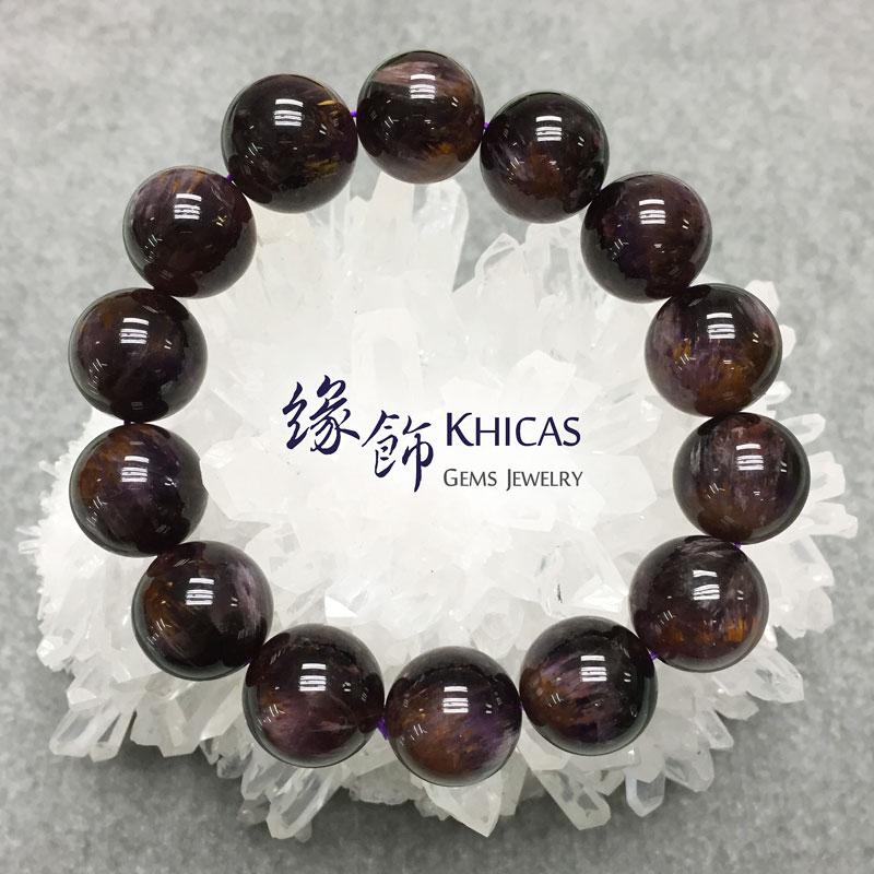 巴西2A+紫鈦晶手串 16mm KH141336 @ Khicas Gems 緣飾