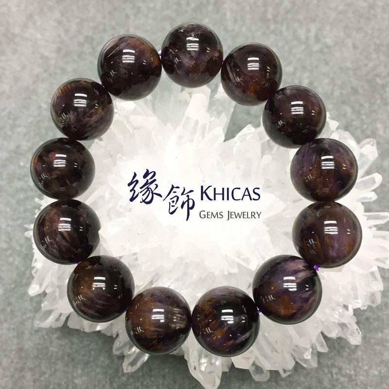 巴西2A+紫鈦晶手串 17mm KH141337 @ Khicas Gems 緣飾