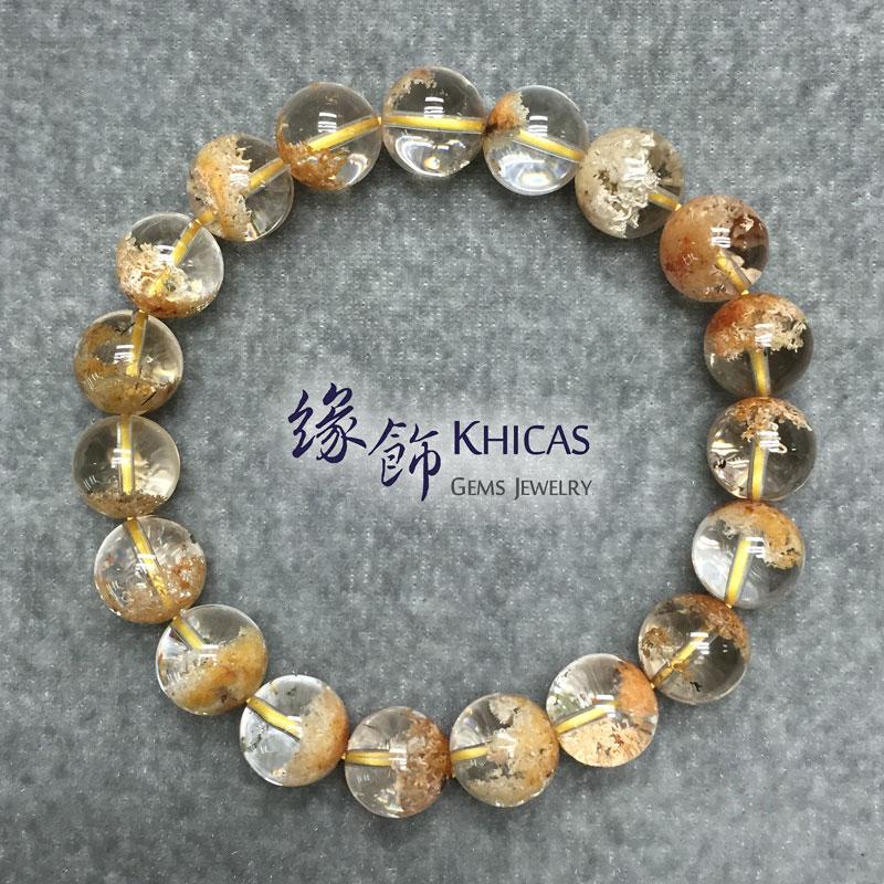巴西3A+紅幽靈手串 11mm KH141377 Khicas Gems 緣飾