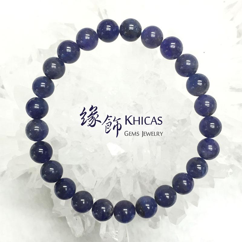 坦桑尼亞 藍坦桑石手串 7mm Tanzanite KH141449 @ Khicas Gems 緣飾