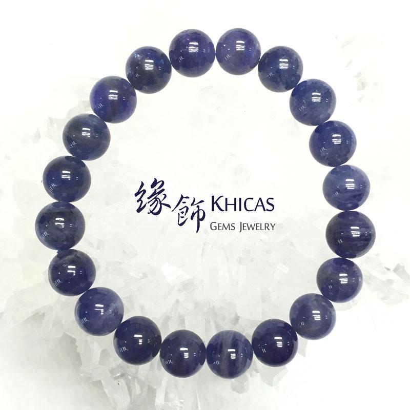 坦桑尼亞 藍坦桑石手串 10mm Tanzanite KH141450 @ Khicas Gems 緣飾