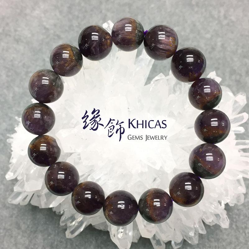 巴西2A+紫鈦晶手串 13.5mm KH141454 @ Khicas Gems 緣飾
