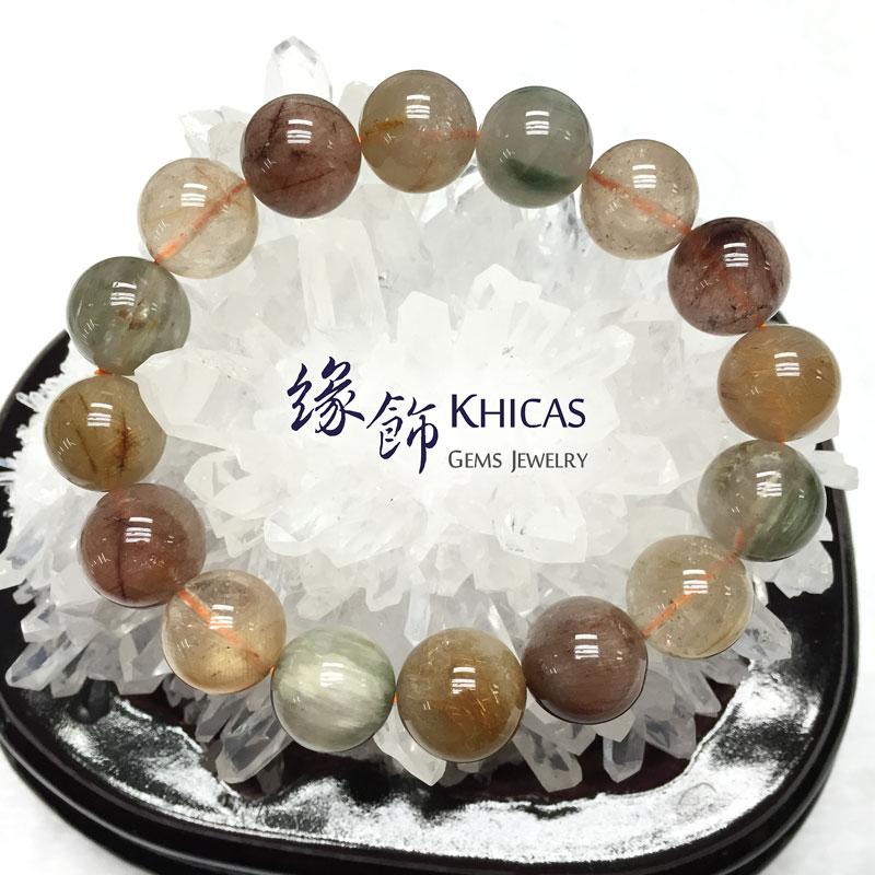 福祿壽圓珠手串 14mm KH141458 Khicas Gems 緣飾