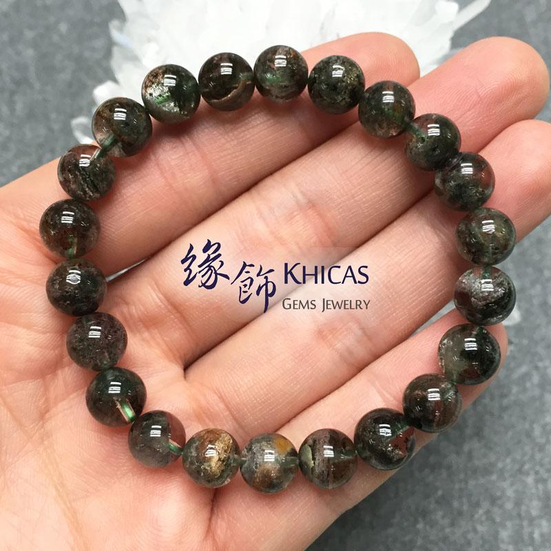 巴西 3A+ 綠幽靈手串 8.5mm KH141468 Khicas Gems 緣飾
