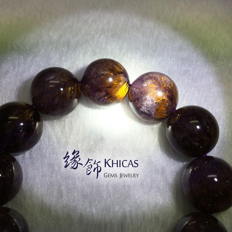 巴西 5A+ 紫鈦晶手串 18mm KH141500 @ Khicas Gems 緣飾