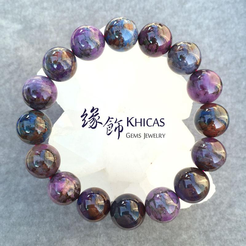 南非 3A+ 舒俱徠手串 14mm Sugilite KH141515 @ Khicas Gems 緣飾