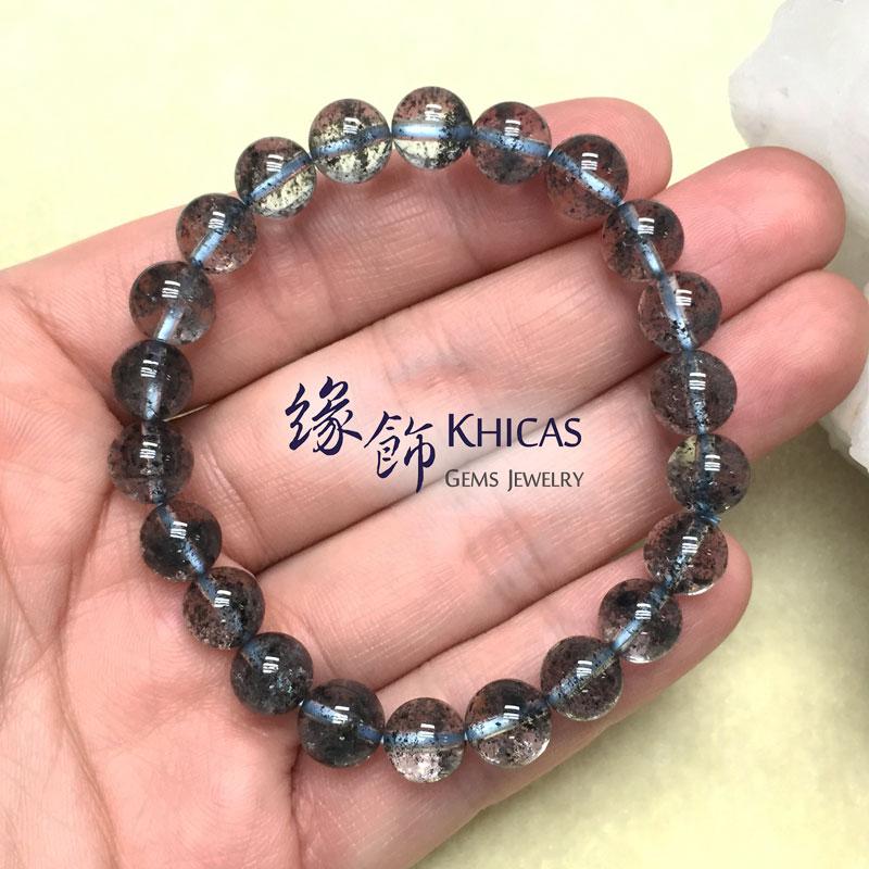 巴西 3A+ 藍幽靈手串 8.2mm KH141579 @ Khicas Gems 緣飾