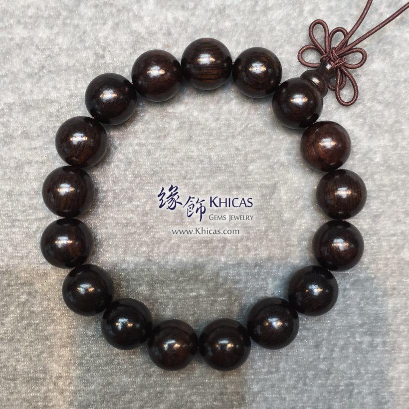 非洲黑檀木手串 12mm KH141614 @ Khicas Gems Jewelry 緣飾天然水晶