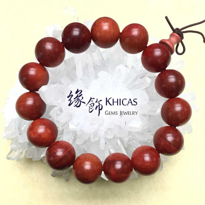 印尼血龍木手串 18mm KH141618 @ Khicas Gems 緣飾