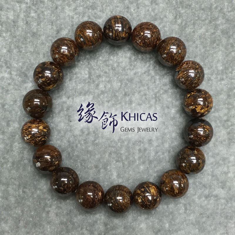 彼得石手串 10mm Pietersite KH141624 @ Khicas Gems 緣飾