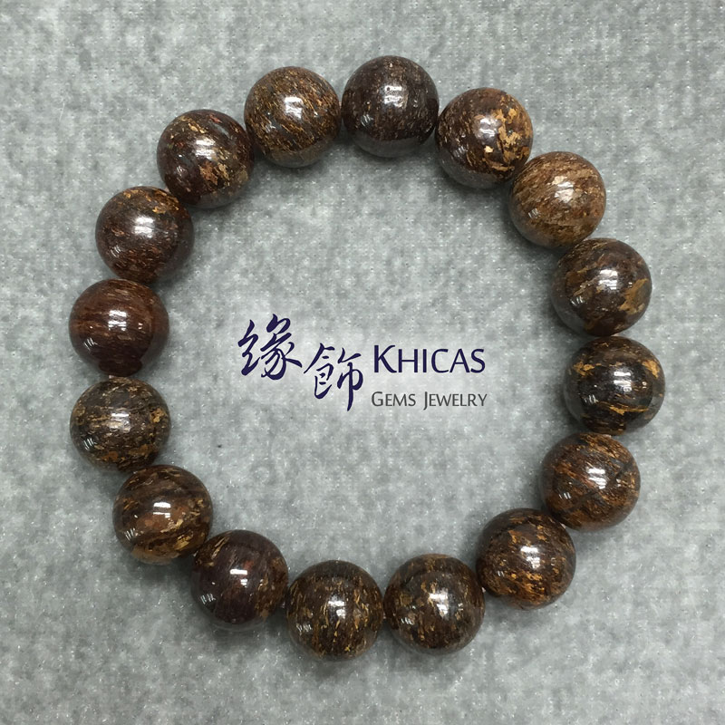 彼得石手串 12mm Pietersite KH141625 @ Khicas Gems 緣飾