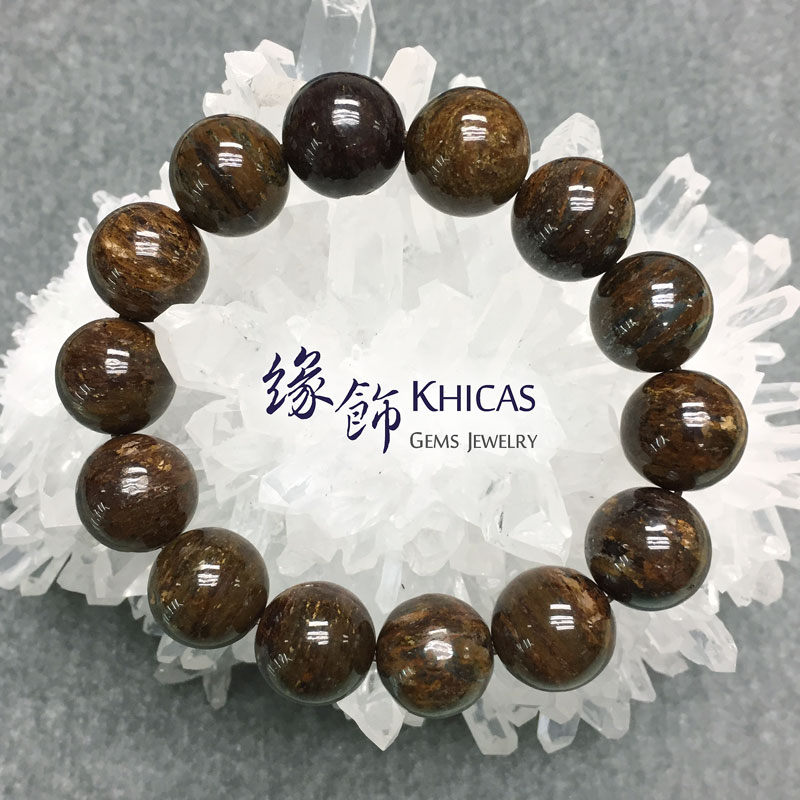 彼得石手串 14mm Pietersite KH141626 @ Khicas Gems 緣飾