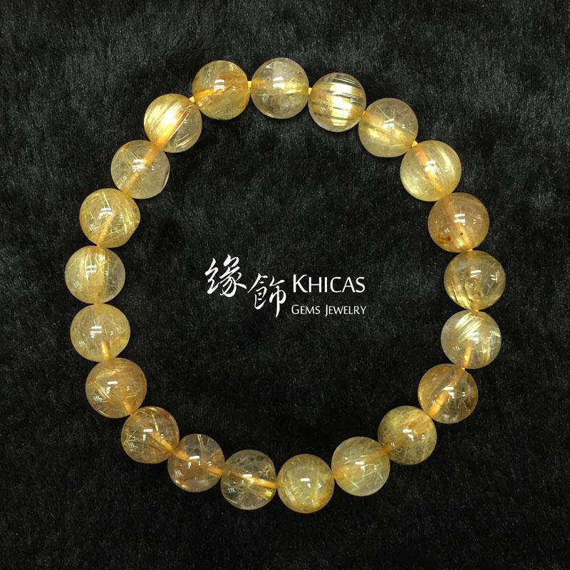 巴西 3A+ 金髮晶手串 9.5mm KH141638 @ Khicas Gems 緣飾
