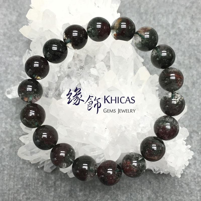 4A+ 巴西綠幽靈手串 11mm KH141650 @ Khicas Gems 緣飾