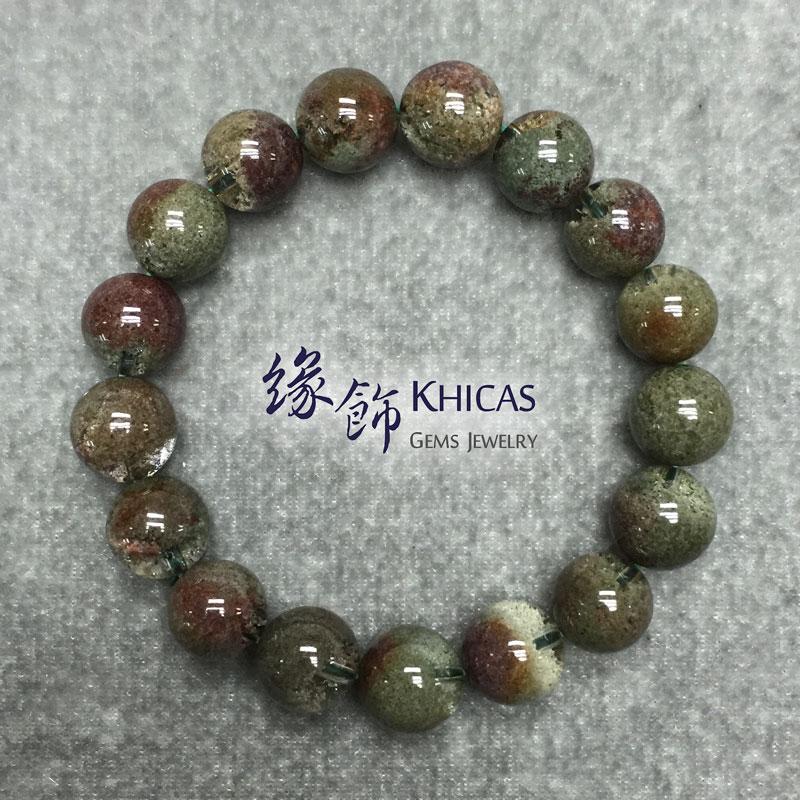 巴西 4A+ 綠幽靈手串 12mm KH141653 @ Khicas Gems 緣飾