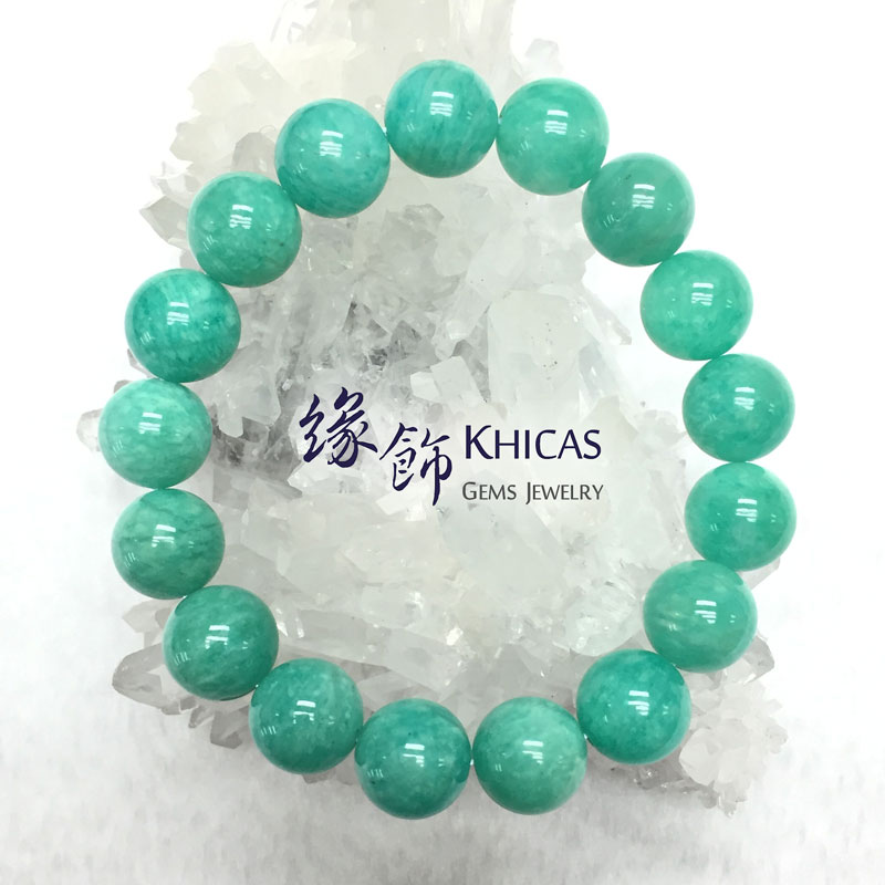 莫桑比亞 4A+ 天河石手串 13mm KH141664 Khicas Gems 緣飾
