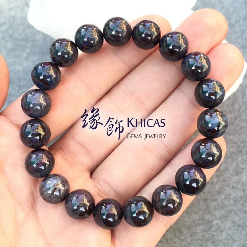 南非 2A+ 藍色舒俱徠手串 10mm Sugilite KH141671 @ Khicas Gems 緣飾