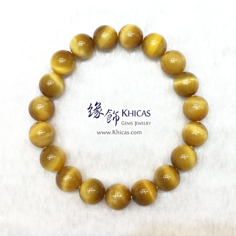 5A+ 南非金虎眼石手串 10mm KH141704 @ Khicas Gems 緣飾