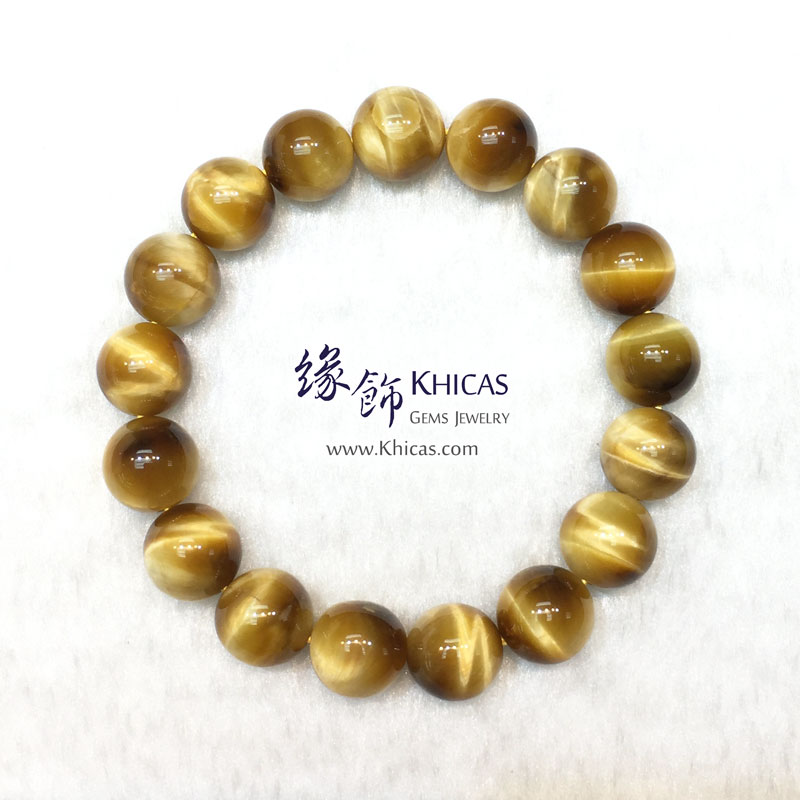 5A+ 南非金虎眼石手串 12.5mm KH141705 @ Khicas Gems 緣飾