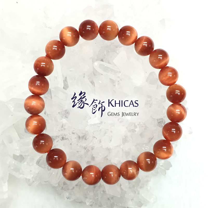5A+ 南非太陽紅虎眼石手串 8mm KH141707 @ Khicas Gems 緣飾