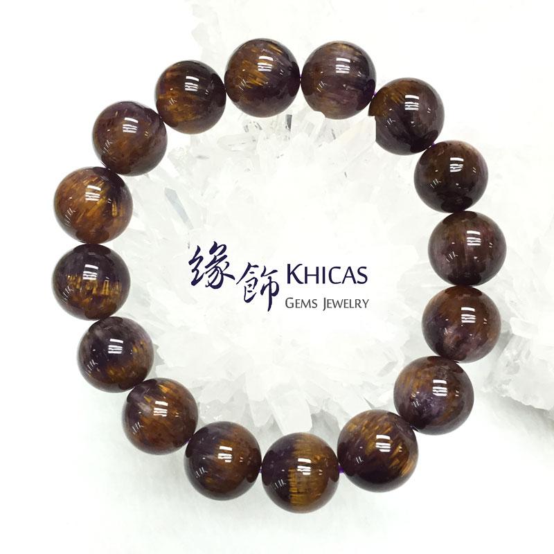 巴西 5A+ 紫鈦晶手串 13.5mm KH141849 @ Khicas Gems 緣飾
