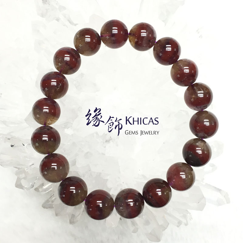 加拿大 4A+ Auralite 23 極光23水晶手串 11.5mm KH141892 @ Khicas Gems 緣飾