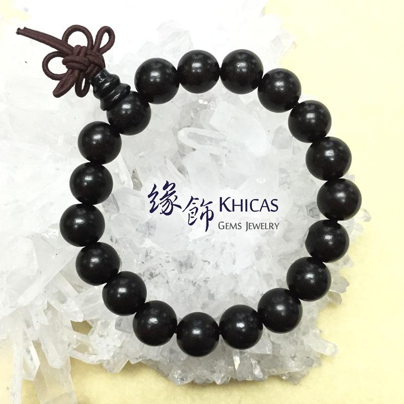 非洲黑檀木手串 10mm KH141915 @ Khicas Gems 緣飾