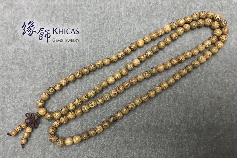 雞翅木 108 念珠手串 8mm KH141939 Khicas Gems 緣飾