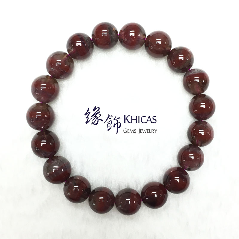 加拿大 3A+ Auralite 23 極光23水晶手串 10.5mm KH141974 @ Khicas Gems 緣飾