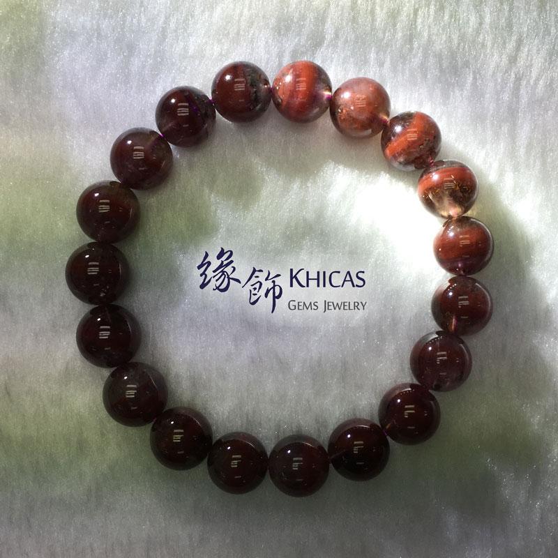 加拿大 3A+ Auralite 23 極光23水晶手串 10.5mm KH141974 @ Khicas Gems 緣飾