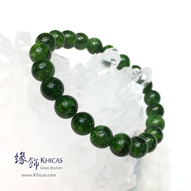 巴西 5A+ 綠透輝石手串 8.8mm Diopside KH142009 @ Khicas Gems 緣飾