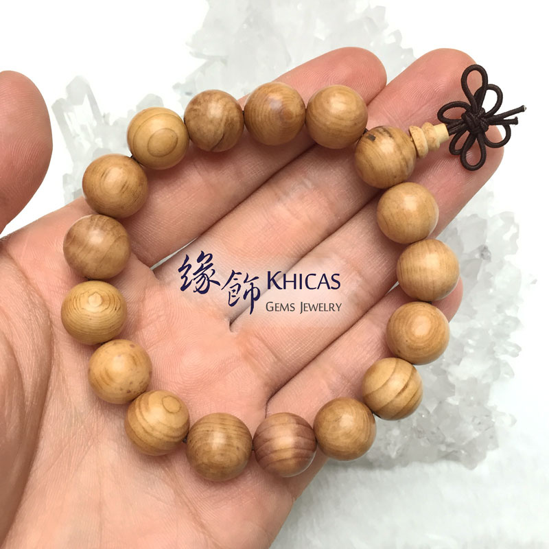 紅豆杉(紫杉)手串 12mm KH142036 @ Khicas Gems 緣飾