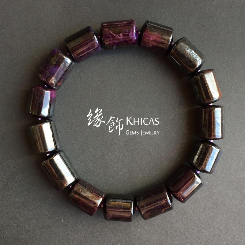 南非舒俱徠桶珠手串 10mm Sugilite KH142058 @ Khicas Gems 緣飾