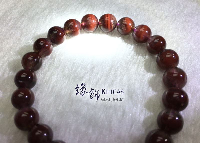 加拿大 3A+ Auralite 23 極光23水晶手串 8.5mm KH142427 @ Khicas Gems 緣飾