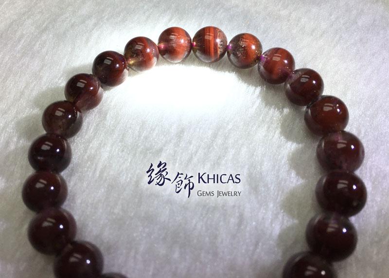 加拿大 3A+ Auralite 23 極光23水晶手串 8.5mm KH142427 @ Khicas Gems 緣飾