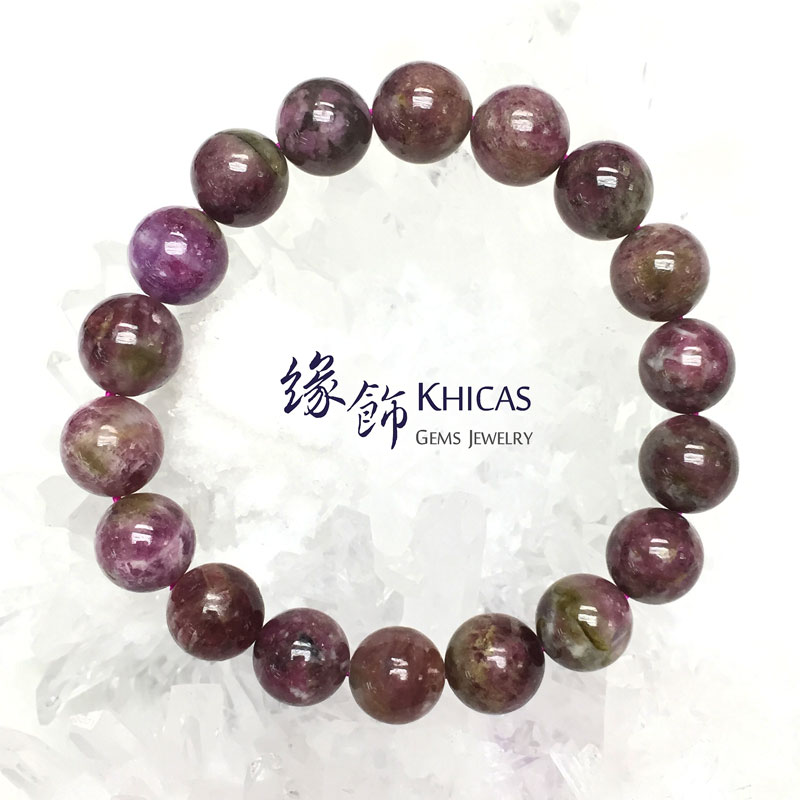 巴西 2A+ 梅花碧璽手串 11.5mm Tourmaline KH142468 @ Khicas Gems 緣飾
