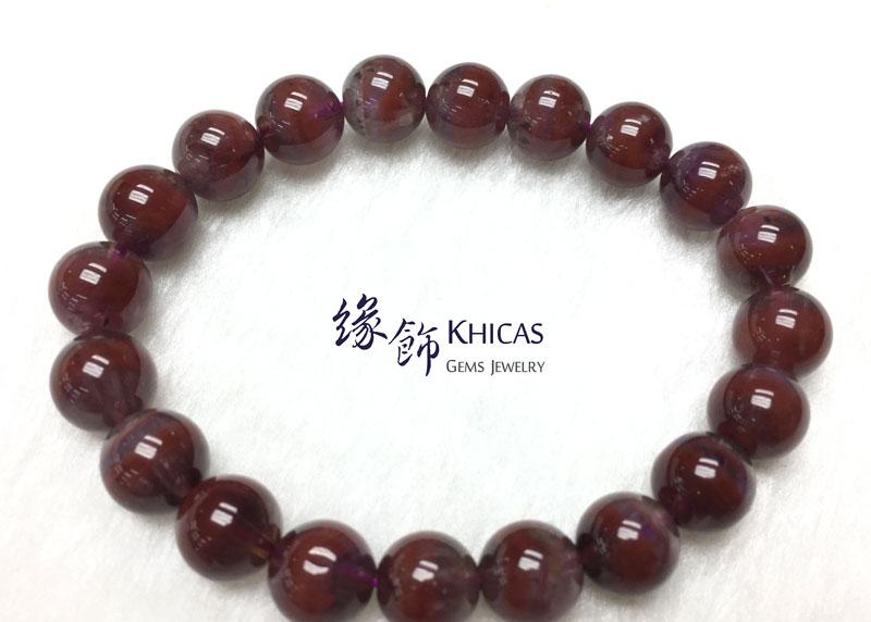 加拿大 4A+ Auralite 23 極光23水晶手串 9.5mm KH142716 @ Khicas Gems 緣飾